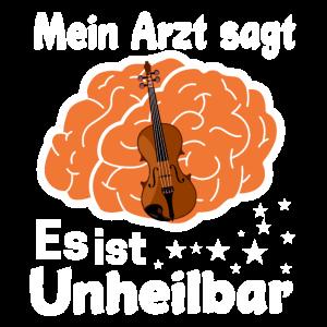 Violinist Orchestra Cello Geschenk