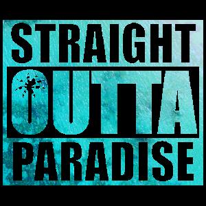 Straight Outta Paradise - Palme, Ozean