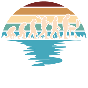 Grill Evolutions Shirt - Neandertaler bis Grillmei