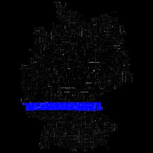 Thin Blue Line Germany - Polizei Deutschland