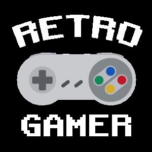 Retro Gamer White