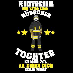 Feuerwehrmann Vater Tochter Geschenk