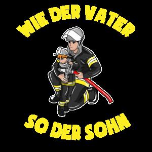 Feuerwehrmann Sohn Vater Geschenk