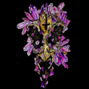 Die gruselige Kristallkrähe