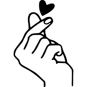 schnippende Hand mit Herz