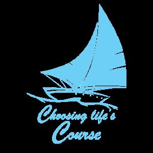 Segeln Geschenk drucken Seemann den Lebensweg wählen