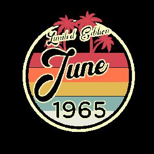Vintage Juni 1965 Fun 55. Geburtstags Geschenk