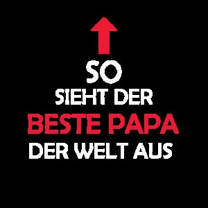 Bester Papa Der Welt Papi Geschenkidee Paps Vater