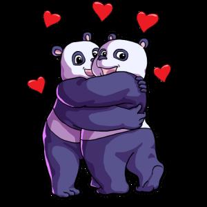 Panda Pandabär Pandaliebhaber Pandas