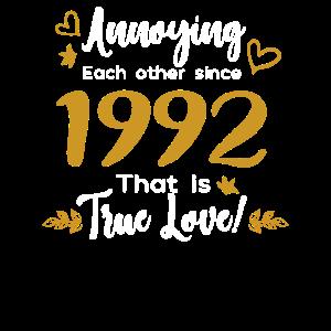 Sich gegenseitig nerven seit 1992 Das ist wahre Liebe