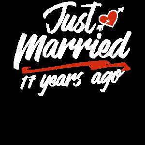 Gerade verheiratet vor 17 Jahren Lustige Hochzeit