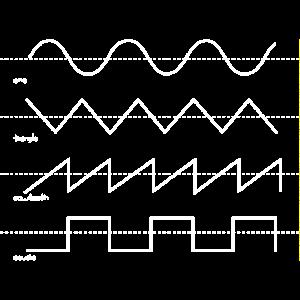 Vintage Synthesizer Analog Synth Waveform Musik