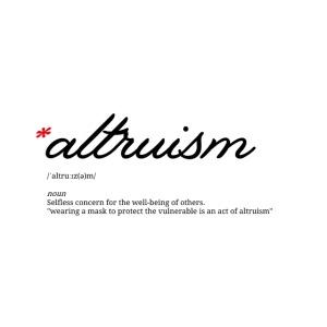 Altruïsme t-shirt