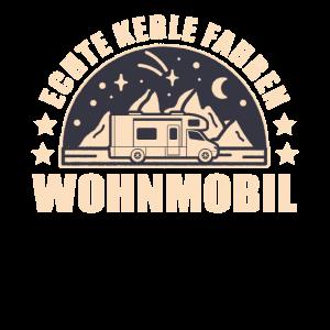 Camping Wohnmobil Echte Kerle Fahren Wohnmobil