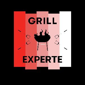 Grill Experte Grillexperte Stolz Lustig Geschenk