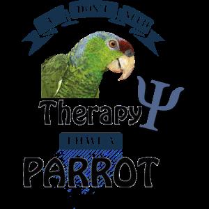 Flieder gekrönter Papagei