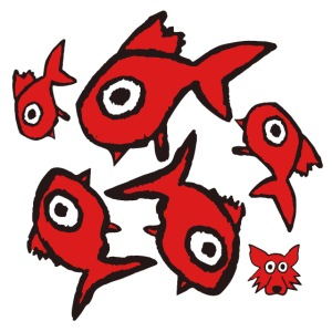 red fishes