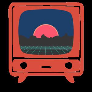 80s Fernseher