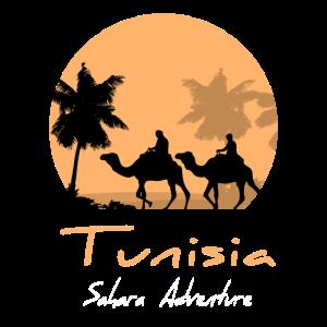 Tunesien - Kamelkarawane im Mondschein