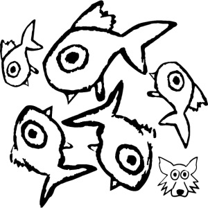 one line fishes