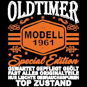 Oldtimer Modell 1961 - 60. Geburtstag