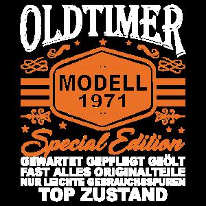 Oldtimer Modell 1971 - 50. Geburtstag