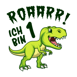 1. Geburtstag Dinosaurier