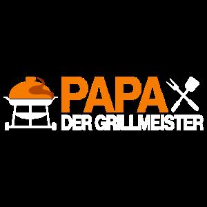 Papa Grillmeister Grillen Geschenk