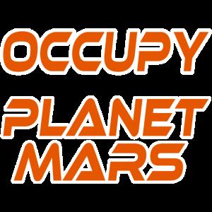 Planet Mars Marsmensch Sonnensystem Raumschiff