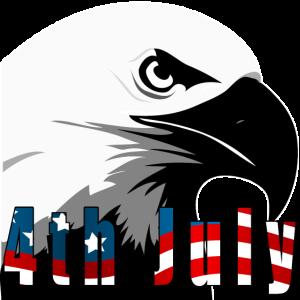 4. Juli Unabhängigkeitstag Adler