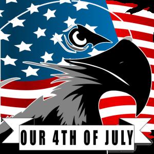 4. Juli Unabhängigkeitstag Eagle2
