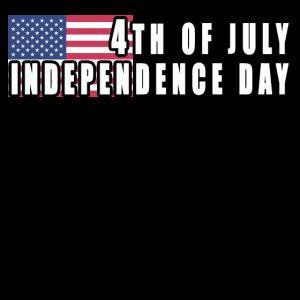 4. Juli Unabhängigkeitstag Flagge1