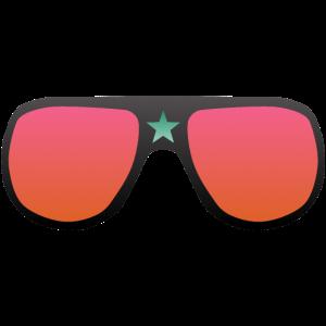 lustige Sonnenbrille