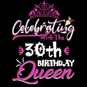 Feiern mit der Königin zum 30. Geburtstag
