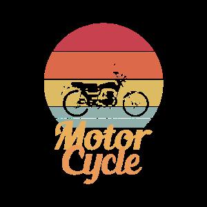 Motorrad Vintage Retro Geschenkidee