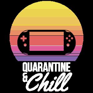 Quarantäne und Chill Gamer