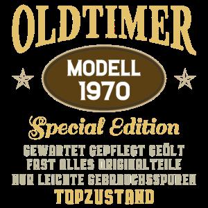 Oldtimer 1970 50 Jahre Geburtstag