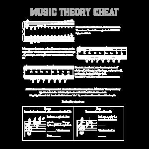 Musiktheorie Geschenk