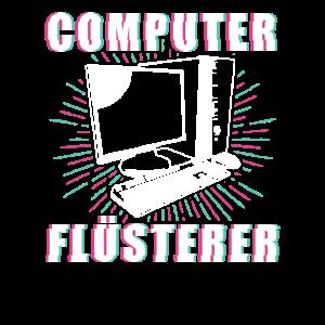 Computer Flüsterer - Informatiker Computerarbeit
