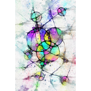 Lebensabschnitte - Neuro Art Poster 1