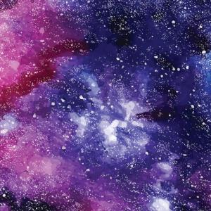 Universum Galaxy Maske Mundschutz