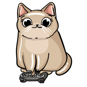 Gaming Cat