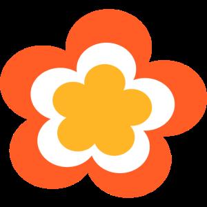Retro Blume