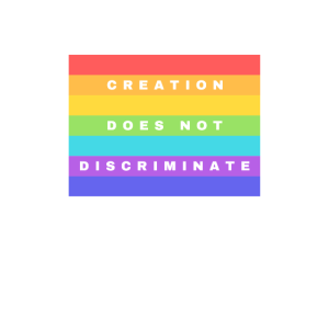 """""""Schöpfung diskriminiert nicht"""" Lebendiges Design"""
