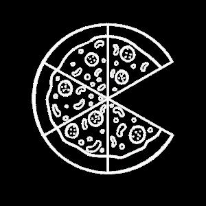 Partnerlook Couple Partner Paar Pärchen Pizza