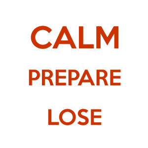 Keep Calm And Prepare To Lose - lustiges Gaming