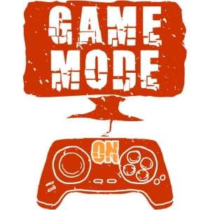 Game Mode ON - lustiges Gamer Design