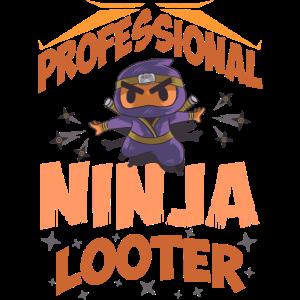 Professional Ninja Looter - Lustiges MMORPG Gamer