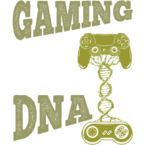 Gaming Is In My DNA - lustiges Gamer Design
