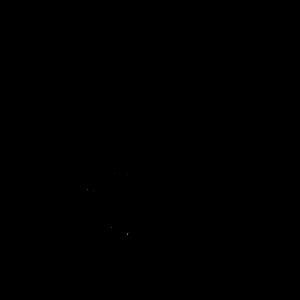 Kreuz gezeichnet schwarz